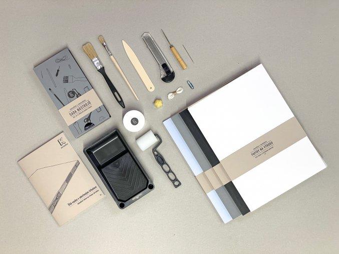 Návod /1/ KOMPLET (návod + papíry + nástroje)